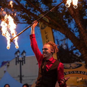 Skinny Circus - Fire Performer / Clown in Edmonton, Alberta