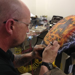 Skullcarver Airbrushing - Airbrush Artist in Holland, Michigan