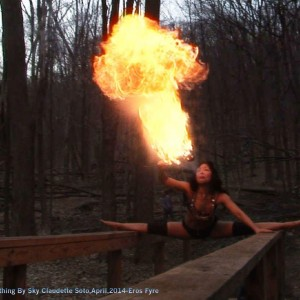 Sky Claudette & Vlad-Eros Fyre - Fire Performer in New York City, New York