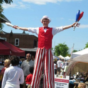 Sky's Entertainment Services - Stilt Walker / Interactive Performer in Kernersville, North Carolina