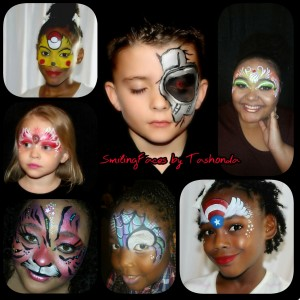 SmilingFaces by Tashonda - Face Painter / College Entertainment in Lancaster, Texas
