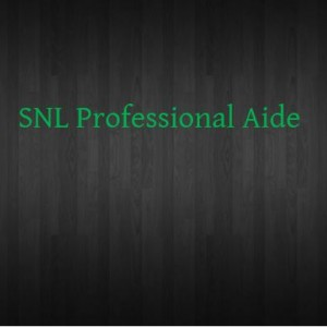 SNL Professional Aide