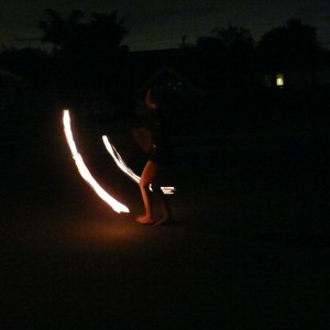 Sol Fire - Fire Performer in Huntington Beach, California