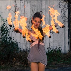 Solace Spins - Fire Performer in Roseland, New Jersey