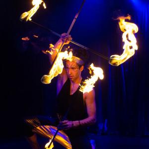 SolRiso - Fire Dancer in Las Vegas, Nevada