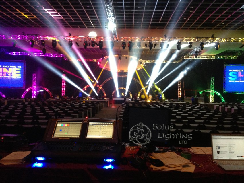 Lighting for a corporate event in Orlando Florida & Hire Solus Lighting LTD - Lighting Company in Cleveland Ohio azcodes.com