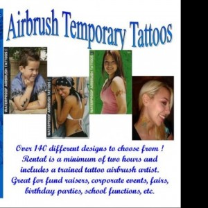 Kool Kats Airbrush Tattoos - Temporary Tattoo Artist / Airbrush Artist in Somerset, Massachusetts