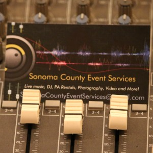 Sonoma County Event Services - Event Planner / Sound Technician in Santa Rosa, California
