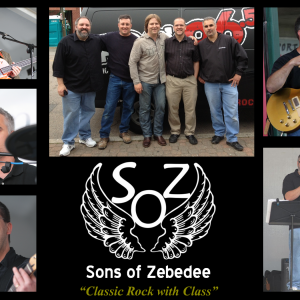 Sons of Zebedee - Classic Rock Band in Richmond, Virginia