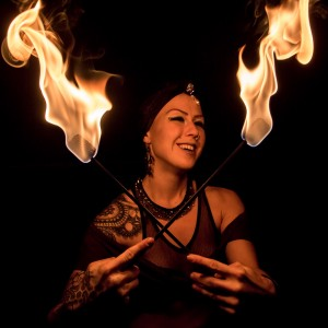 Sophie Spacegypsy - Fire Performer in Madison, Wisconsin