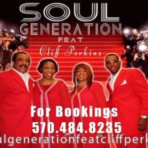Soul Generation feat Cliff Perkins - R&B Group / Cover Band in Woodbridge, New Jersey