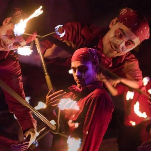 Soul Tribe Circle Circus - Fire Performer in Dayton, Ohio