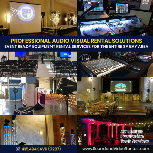 Sound and Video Rentals - Event Planner in Walnut Creek, California