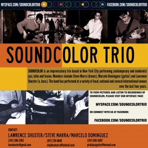 Soundcolor Trio - Jazz Band / Wedding Band in Ridgewood, New York