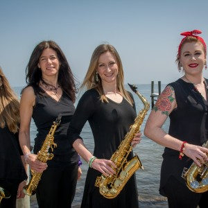 Lady Blue Saxophone Quartet - Easy Listening Band in Islip Terrace, New York