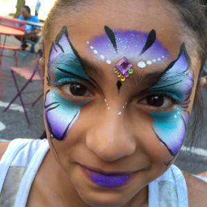 Sparkler Face Painting - Face Painter in Voorhees, New Jersey