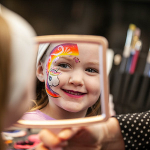 Sparkles and Swords - Face Painter / Princess Party in McKinney, Texas