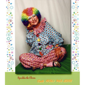 Sparkles The Clown - Face Painter / Outdoor Party Entertainment in Weslaco, Texas