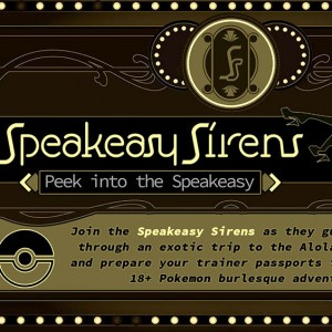 Speakeasy Sirens burlesque