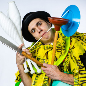 Spencer Sprocket - Juggler / Comedy Magician in Portland, Oregon