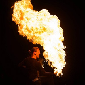 Spidey Fire Arts and Performance Entertainment - Fire Performer in Orlando, Florida