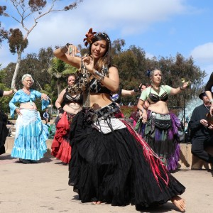 Spiralina - Belly Dancer in San Diego, California