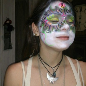 Split Open and Melt Body Paint and Design - Body Painter / Halloween Party Entertainment in Hoosick Falls, New York