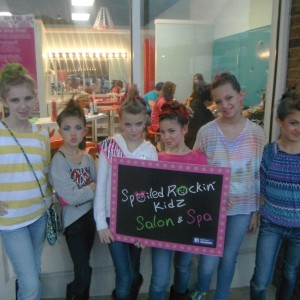 Spoiled Rockin' Kidz Salon & Spa - Princess Party in Huntsville, Alabama