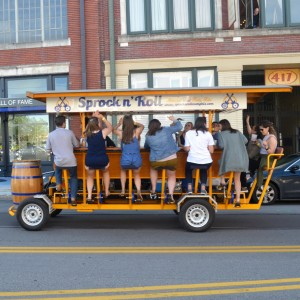 Sprock n' Roll Party Bike Tour - Corporate Entertainment in Memphis, Tennessee
