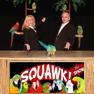 Squawk! The Amazing Bird Show - Variety Entertainer in Kissimmee, Florida