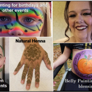 Squirrelcat Designs - Face Painter / Mardi Gras Entertainment in Exeter, New Hampshire