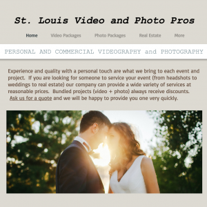 St Louis Video Pros - Wedding Videographer / Video Services in St Louis, Missouri