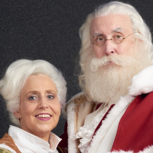 Saint Nicholas and Mrs. Claus - Santa Claus / Tea Party in Columbia, South Carolina