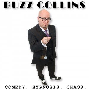 Stage Hypnotist Buzz Collins