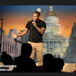 Stand-up comedian Imin Love - Comedian in Sacramento, California