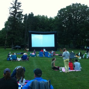 Stardust Theatre Rentals - Outdoor Movie Screens in Brighton, Michigan
