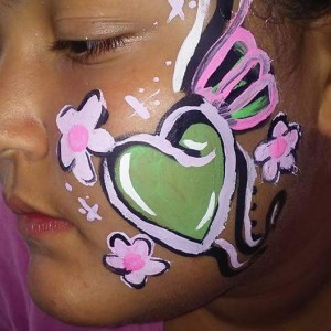Starfish - Face Painter in Greenwood, Indiana