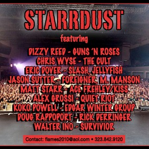 Starrdust - Classic Rock Band in Los Angeles, California