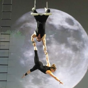 Static duo trapeze - Aerialist in St Petersburg, Florida