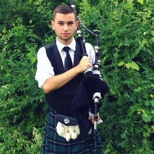 Stefan Foster - Bagpiper in Buffalo, New York