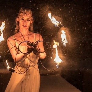Stella Spins Fire - Fire Performer in Denver, Colorado