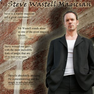 Steve Wastell Magician - Magician in Los Angeles, California