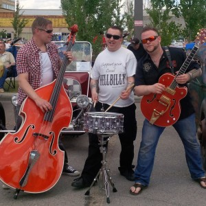 Stickshift Suicide - Rockabilly Band in Calgary, Alberta