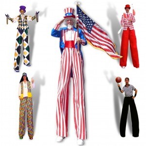 Stilt Fun - Stilt Walker / Patriotic Entertainment in Orlando, Florida