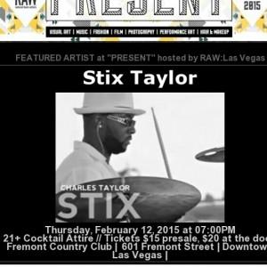 Stix Taylor - Drummer in Las Vegas, Nevada