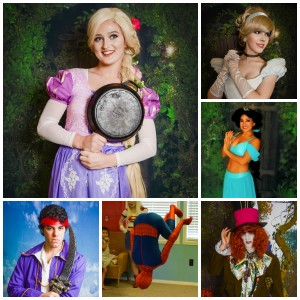 Storybook Birthdays - Princess Party / Superhero Party in Biloxi, Mississippi