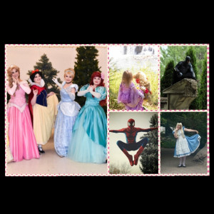 Storybook Parties and Costume Design - Princess Party in Idaho Falls, Idaho