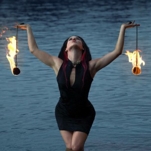 Subluminal - Fire Dancer in Austin, Texas