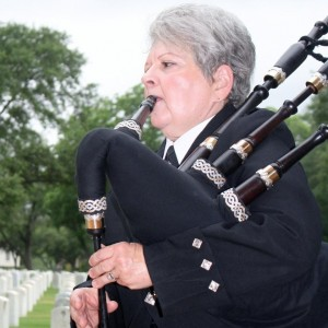 Sue Brannon - Bagpiper in San Antonio, Texas