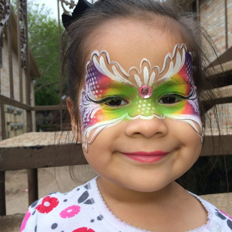 Hire sugarbombcicles face painter in houston texas for Cheap face painting houston